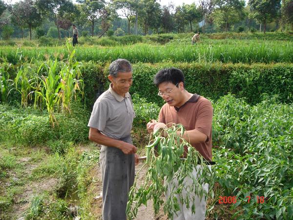 院科技扶贫作业回眸之五:播洒科技种子  携手共谋开展